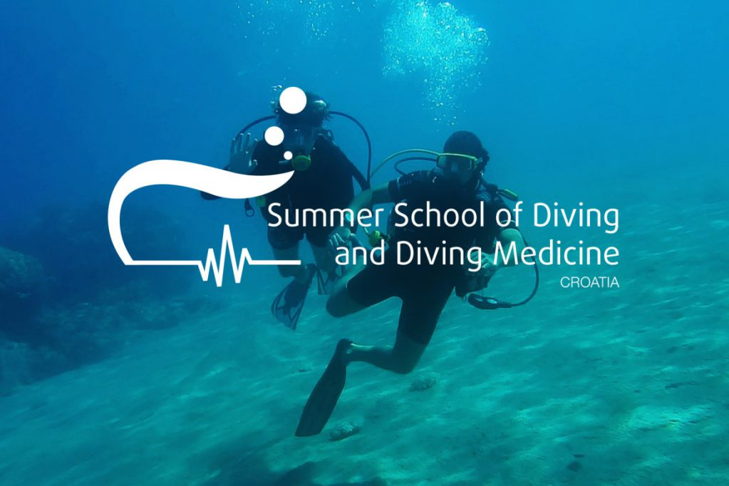 summer-school-of-diving-and-diving-medicine-logo-design