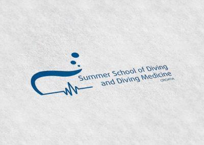 ljetna-skola-ronjenja-dizajn-logotipa